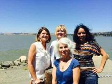 Paula Schnese, Nancy Harlander Cecile Kazemi and Ana Acosta